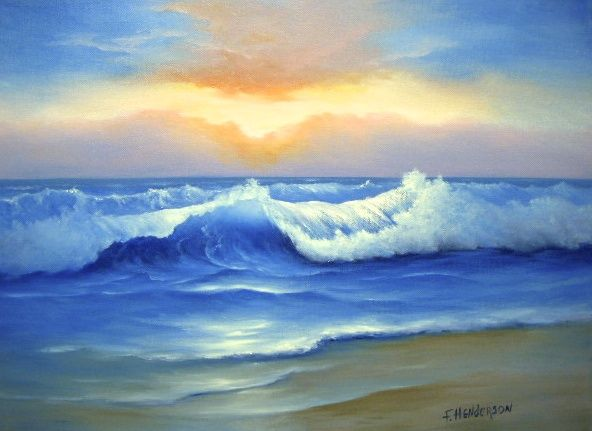 The Sea Francine Henderson Art
